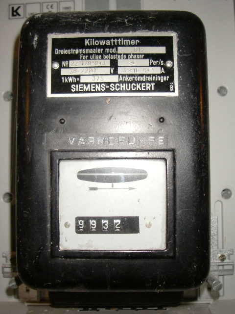 Electric Meter Number : Electricity meter number
